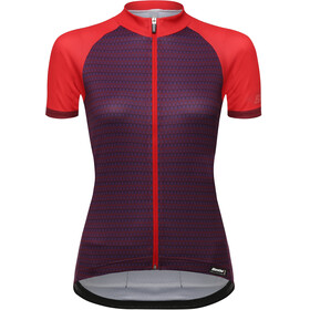 Santini Ritmo Fietsshirt korte mouwen Dames rood/violet
